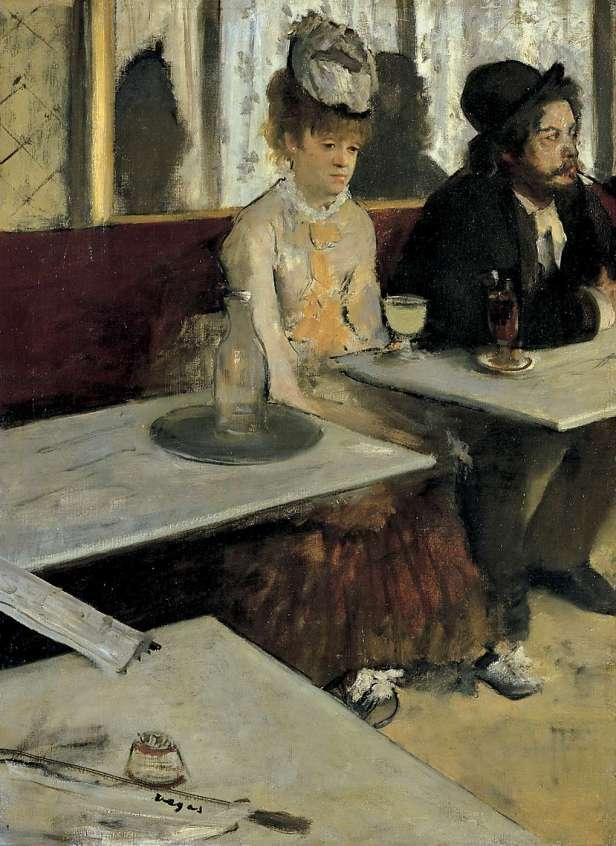 Edgar Degas, L'assenzio