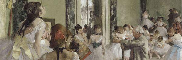Edgar Degas, Classe di danza (dettaglio)