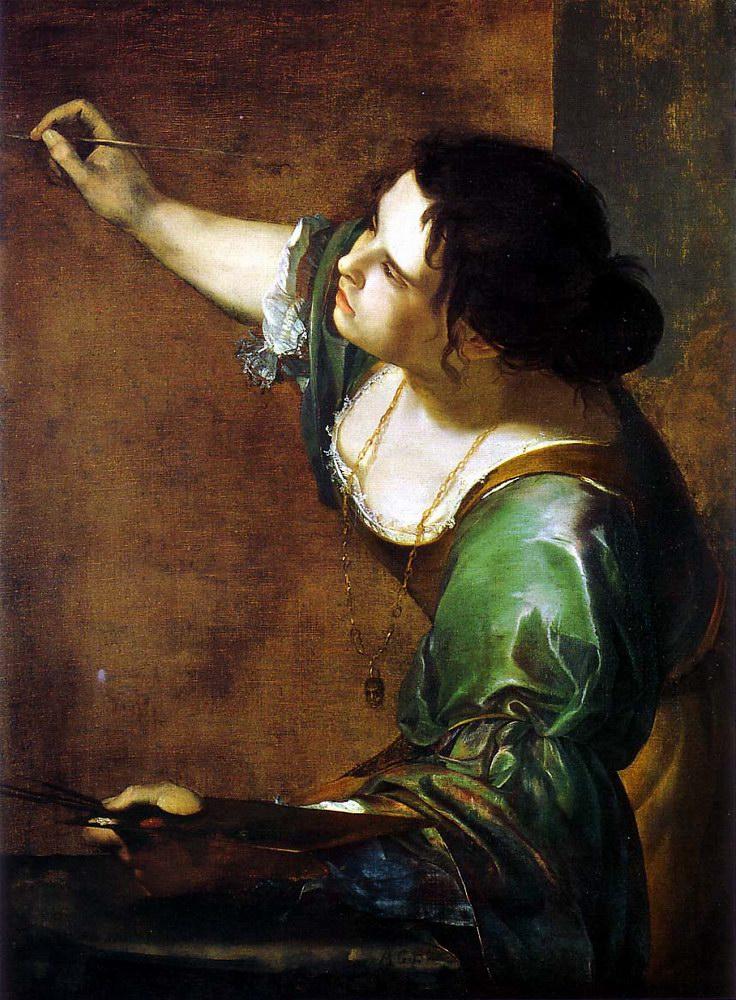 Artemisia Gentileschi, Autoritratto come allegoria della pittura (dipinto)