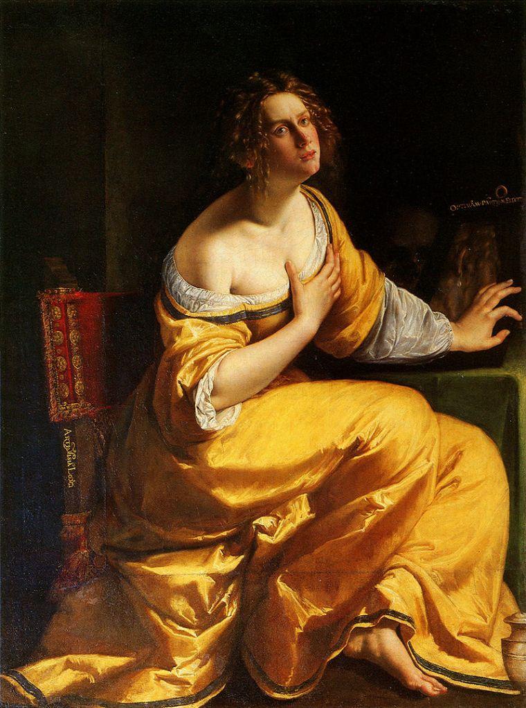 Artemisia Gentileschi, Conversione della Maddalena (dipinto)
