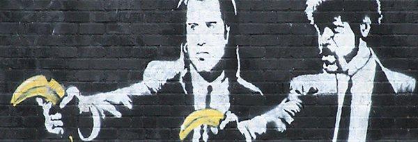 Banksy, Pulp Fiction (dettaglio)