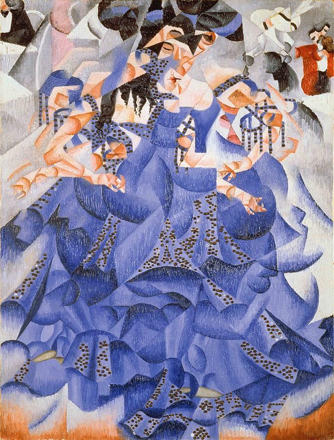 Gino_Severini_Ballerina-in-blu_futurismo_riassunto_due-minuti-di-arte