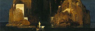 Arnold Böcklin, L'isola dei morti, 1880-1886 (dettaglio)