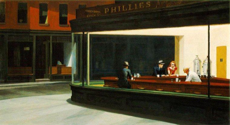 Edward_Hopper_nightwalks_vita_opere_due-minuti-di-arte