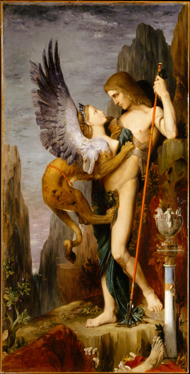 Gustave Moreau, Edipo e la Sfinge, 1864, Metropolitan Museum of Art