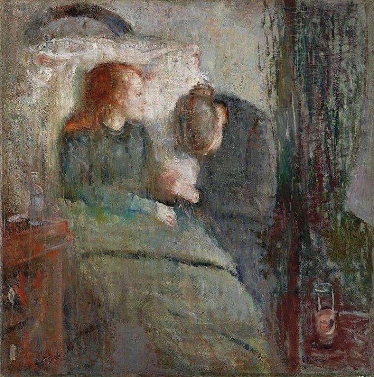 Edward_Munch_la-fanciulla-malata_vita_opere_riassunto_due-minuti-di-arte