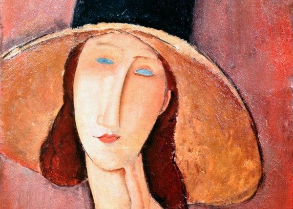 Amedeo Modigliani, Ritratto di Jeanne Hébuterne, 1917