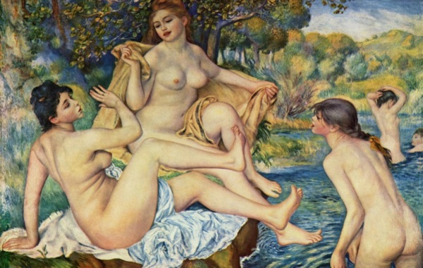 Pierre-Auguste Renoir, Le grandi bagnanti, 1887