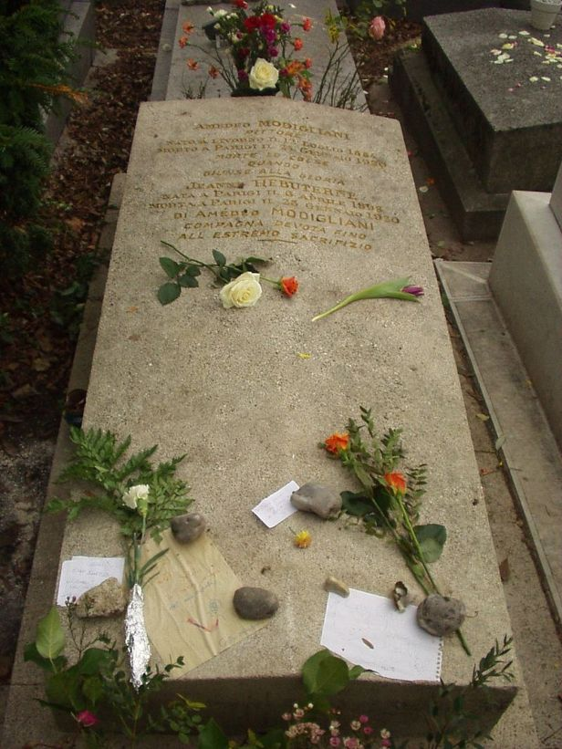 Modigliani_and_Hébuterne_grave