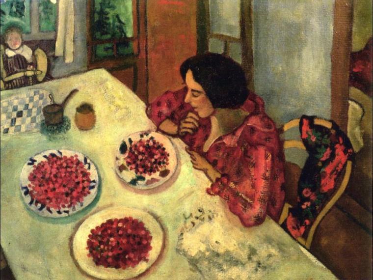 Marc Chagall_Bella_Rosenfeld_le fragole_arte_amore_due-minuti-di-arte