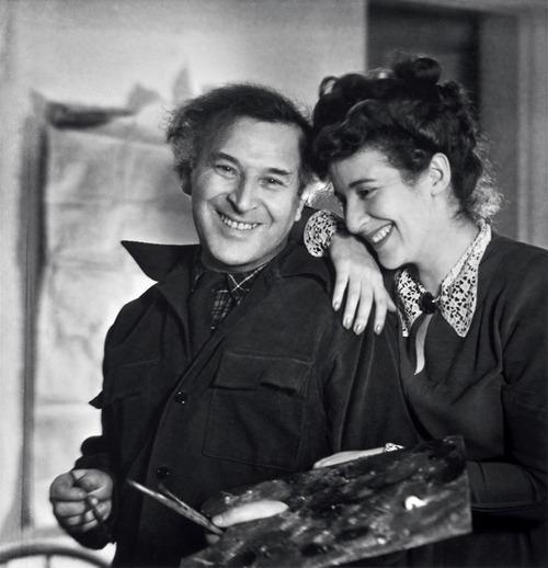 Marc Chagall e Bella Rosenfeld sono nati entrambi a Vitebsk, nell'attuale Bielorussia