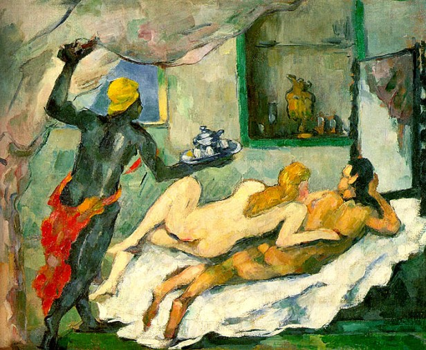 Paul Cézanne, Pomeriggio a Napoli, 1866-1877, Canberra, Australian National Gallery
