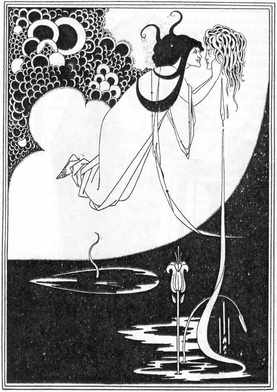 Aubrey Beardsley, Illustrazione per Salomè, 1893