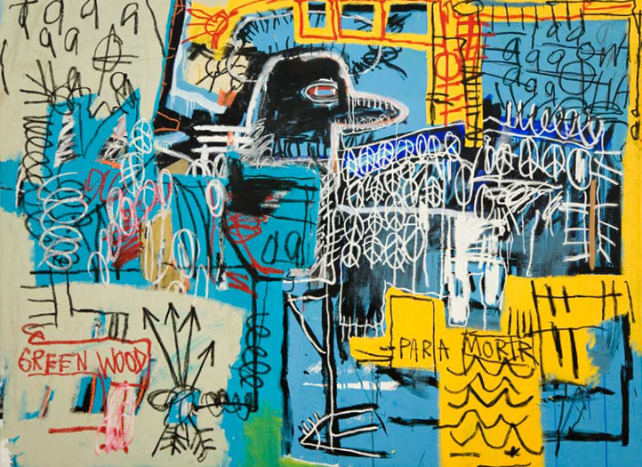 Jean-MIhcel Basquiat, Bird of money, 1981