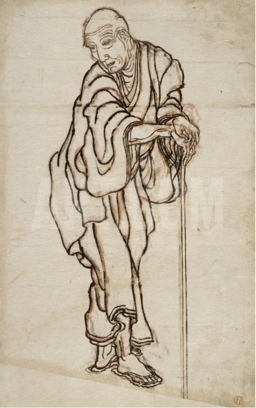 Hokusai_autoritratto_vita_opere_due-minuti-di-arte