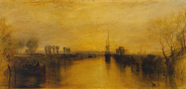 Chichester Canal c.1829 by Joseph Mallord William Turner 1775-1851