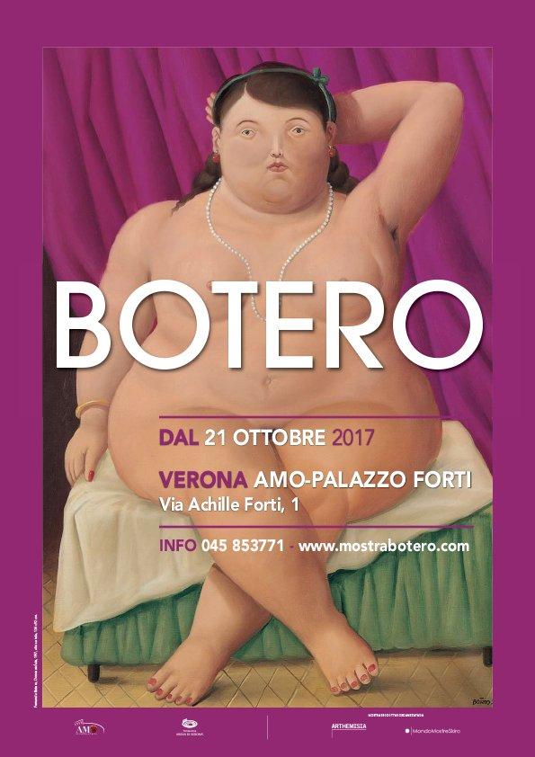 Mostra Botero a Verona