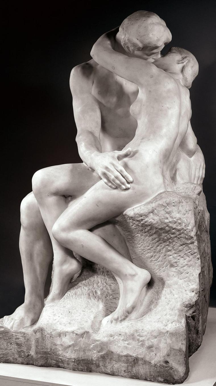 Auguste Rodin, Il bacio, 1901-1904, Tate Britain, Londra