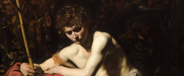 Caravaggio, San Giovanni (dettaglio)