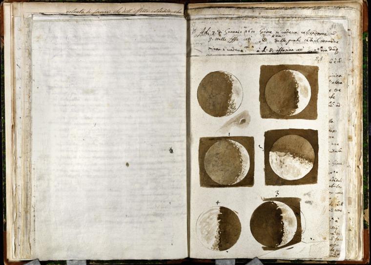 Galileo_mostra_Padova_luna_manoscritto_due-minuti-di-arte