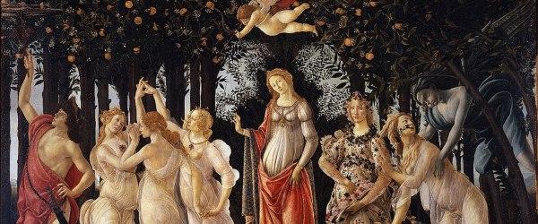 Sandro Botticelli, Primavera (dettaglio)