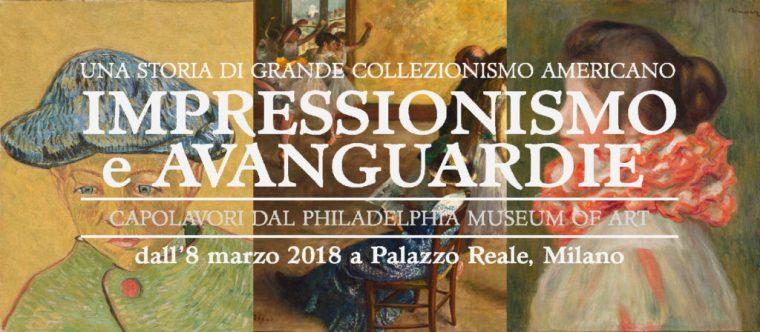 Impressionismo e avanguardie, mostra MIlano