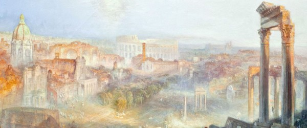 William Turner, mostra a Roma