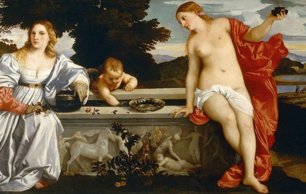 Tiziano, Amor sacro amor profano