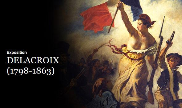 Delacroix mostra Parigi