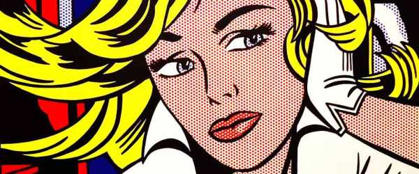 Lichtenstein, pop art