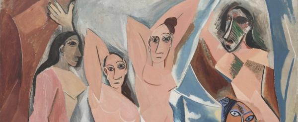 Les demoiselles d'Avignon, Picasso (copertina)