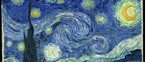 Van Gogh, Notte stellata (copertina)