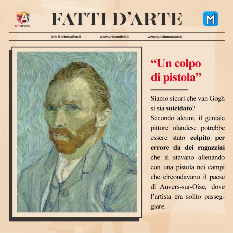 Van Gogh, curiosità, morte