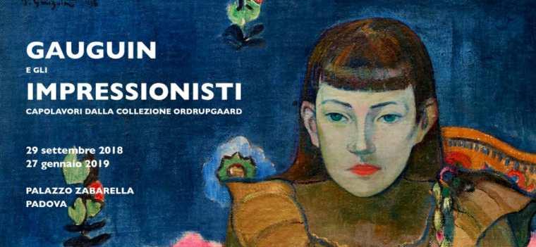 Gauguin e gli impressionisti, mostra a Padova