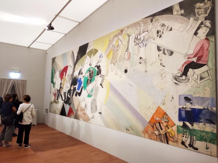 Mostra Chagall Mantova, teatro ebraico