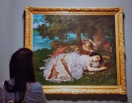 Mostra Courbet e la Natura a Ferrara